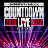 "「LDH PERFECT YEAR 2020 COUNTDOWN LIVE 2019~2020 ""RISING""」ジャケ写"